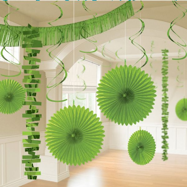 Kiwi Green Room Decoration Kit (18)
